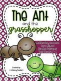 Ant and Grasshopper Fable:CCSS Aligned Leveled Reading Passages and Activities