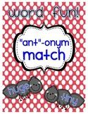 """""""Ant""""-onym Match"""