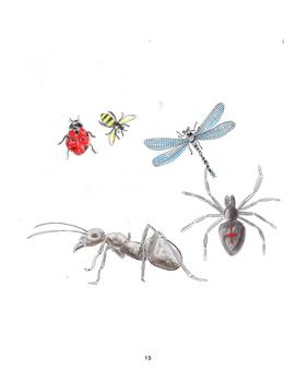 Ant's Eye View Landscape - Visual Art Lesson - 1st - 3rd Grade