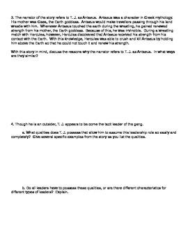 """Antaeus"" Discussion Questions"