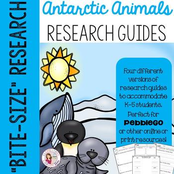 Antarctic Animal Research Guides
