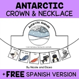 Antarctic Animal Activity Crown and Necklace
