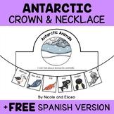 Necklace Craft - Antarctic Animals Activity