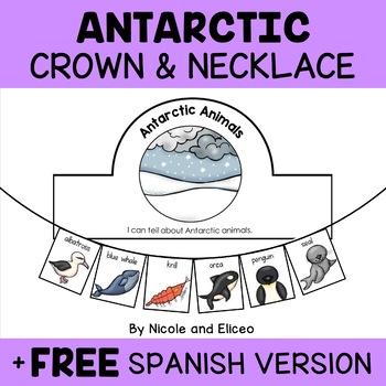 Antarctic Animals Necklace Craft