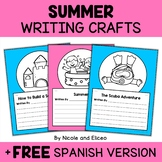 Summer Writing Prompt Crafts