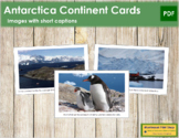 Antarctica Geography Folder