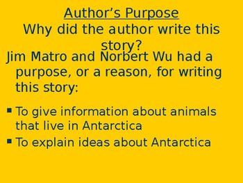 Antarctic Ice - Genre & Purpose