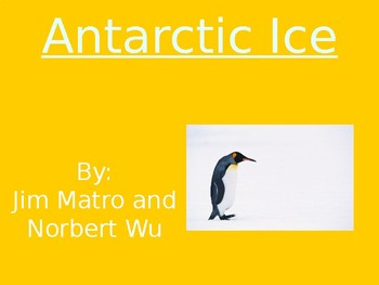 Antarctic Ice - Vocabulary