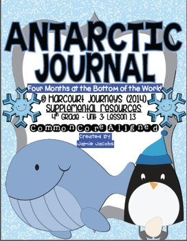 Antarctic Journal (Journeys 4th Gr. - Supplemental Materials)