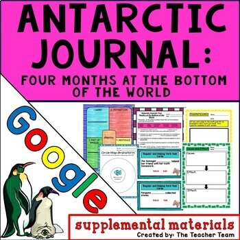 Antarctic Journal Journeys 4th Grade Unit 3 Lesson 13 Google Drive Resource
