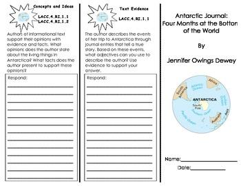 Antarctic Journal/ Journeys Common Core Trifold