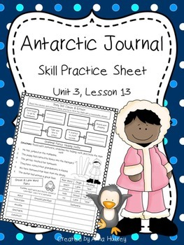 Antarctic Journal (Skill Practice Sheet)
