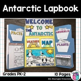 Antarctic Lapbook for Early Learners - Animal Habitats