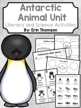Antarctic Animal Unit ~ Literacy and Science Activities