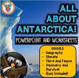 Antarctica Unit - Antarctica Activities and Resource Pack