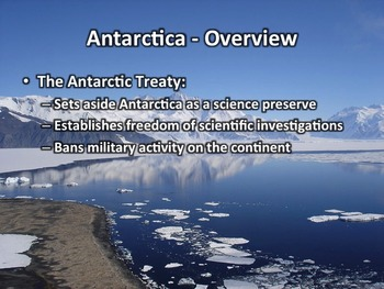 Antarctica Geography PowerPoint Presentation