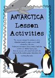 Antarctica Activities and Worksheets