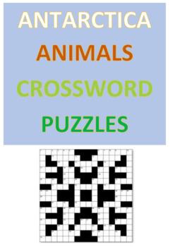 Antarctica Animals Crossword Puzzles