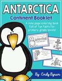 Antarctica Booklet (A Continent Study!)