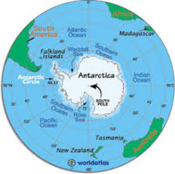 Antarctica... Bottom of the World Pre-Test