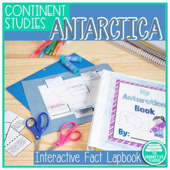 Antarctica Facts Lapbook