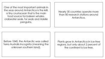 Antarctica Fun Facts