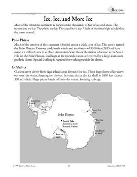 Antarctica: Geographic Regions