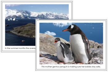Antarctica Geography Folder (color borders)