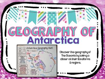 Antarctica Geography Hunt