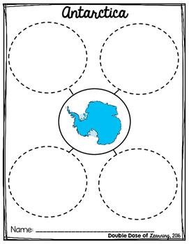 Antarctica Graphic Organizer
