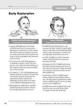 Antarctica: History: Early Exploration
