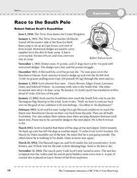 Antarctica: History: Race to the South Pole