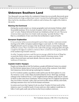 Antarctica: History: Unknown Southern Land