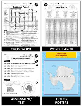 Antarctica: Human and Environmental Interactions Gr. 5-8