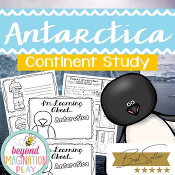 Continent Facts Booklet Unit Antarctica