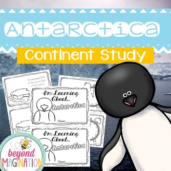 Antarctica Continent Booklet   48 Pages for Differentiated