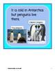Antarctica- Informational Text (level 3-4)