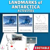 Antarctica Landmarks Activities