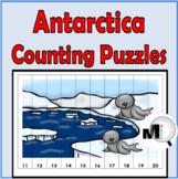 Antarctica Number Order Puzzles