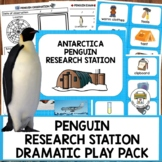 Antarctica Penguin Research Station Dramatic Play Pack