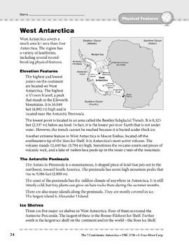 Antarctica: Physical Features: West Antarctica