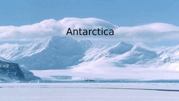 Antarctica - Power Point Full history facts information pictures review animals