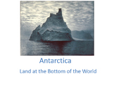Antarctica: PowerPoint and Quiz