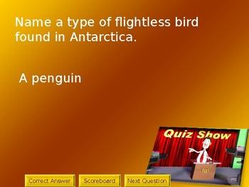 Antarctica Quiz Show