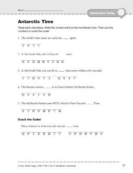 Antarctica: Today: Time