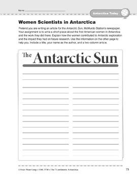 Antarctica: Today: Women Scientists