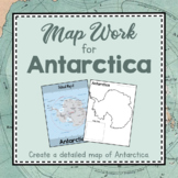 Antarctica Unit Study: Map Work for Antarctica