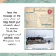 Antarctica Unit Study: Postcards of Landmarks and Landforms in South America