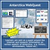 Antarctica WebQuest