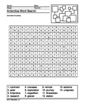 Antarctica Word Search Printable